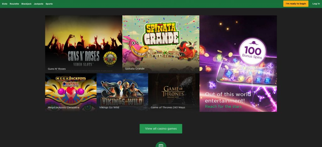 Mr green casino free games